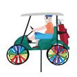 """17"""" Golf Cart"""